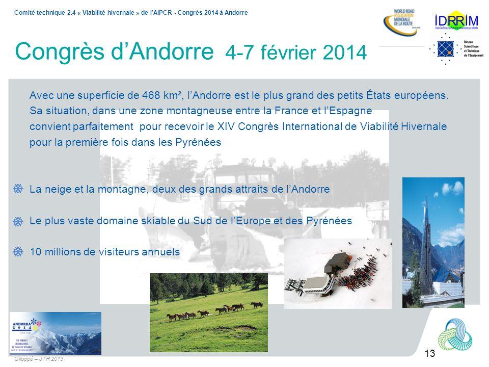 Congrès d'Andorre 4-7 février 2014