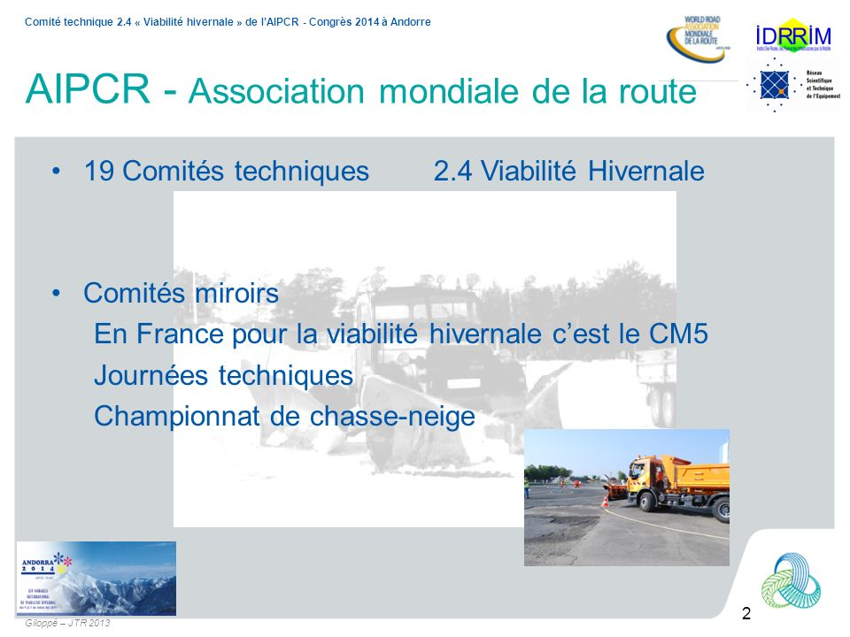 AIPCR - Association mondiale de la route