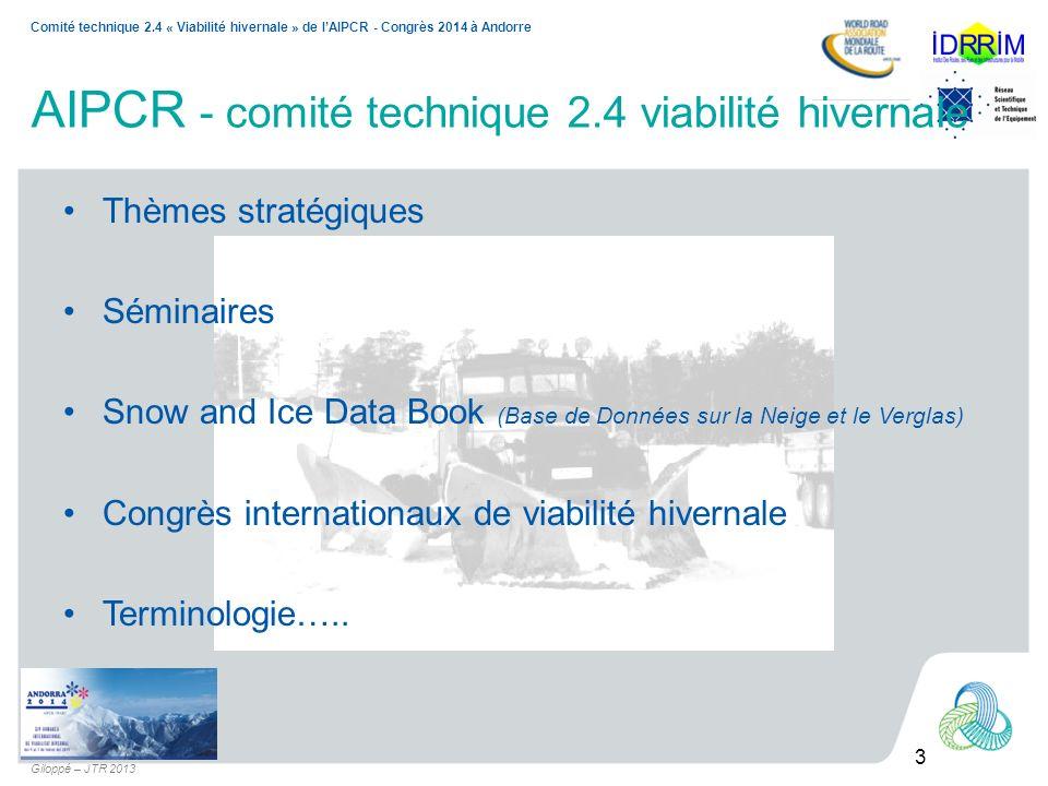 AIPCR - comité technique 2.4 viabilité hivernale