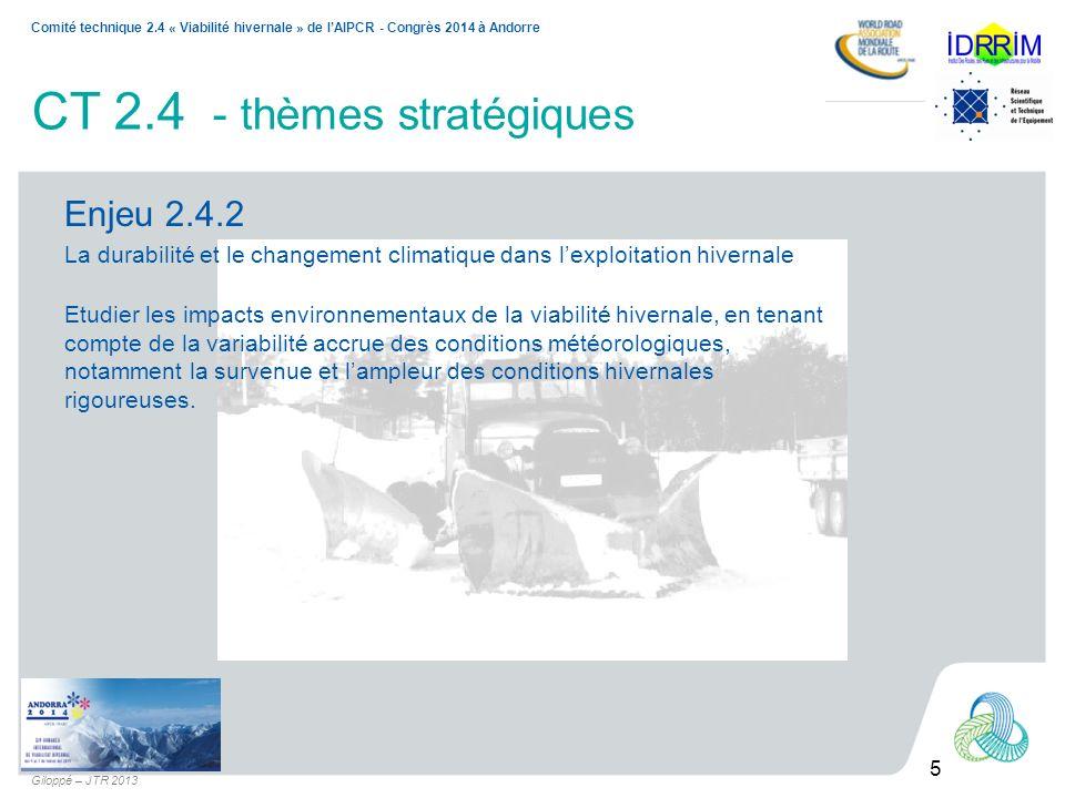CT 2.4 - thèmes stratégiques