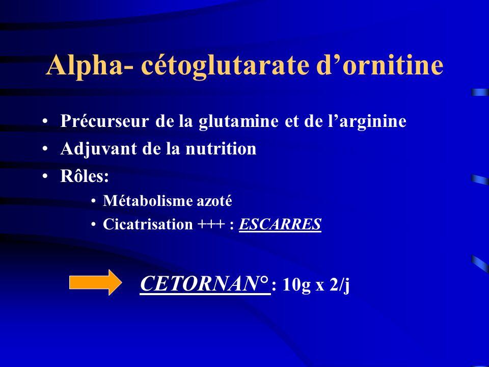Alpha- cétoglutarate d'ornitine