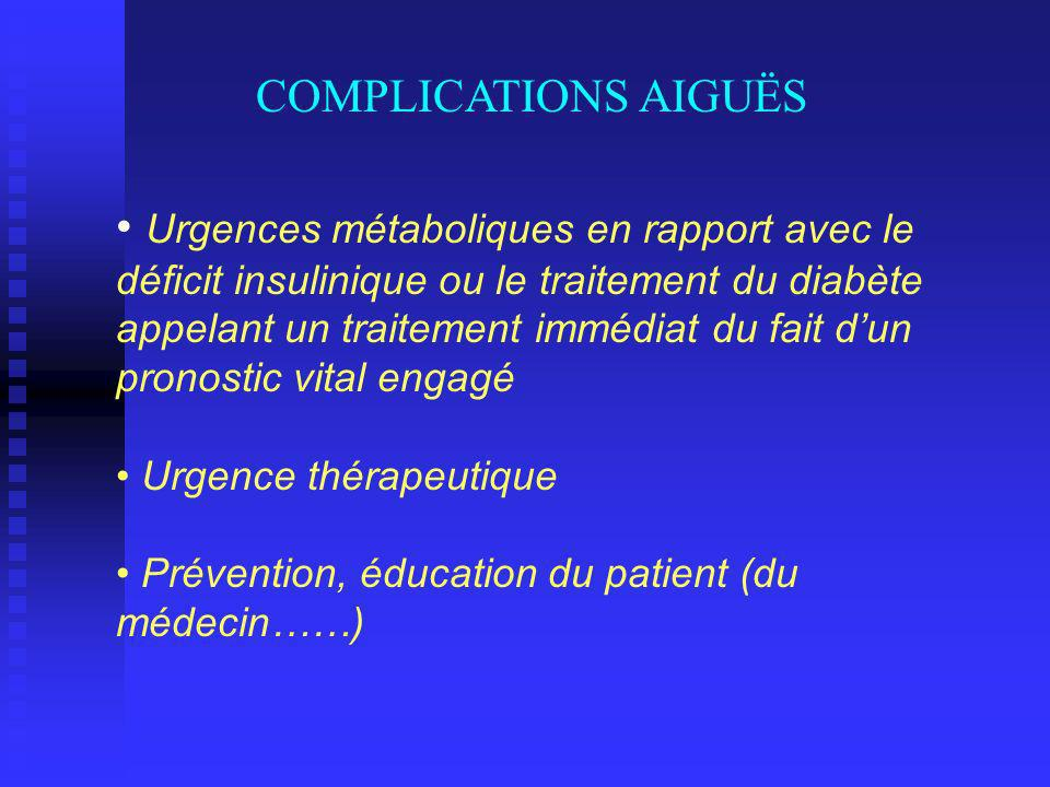 COMPLICATIONS AIGUËS