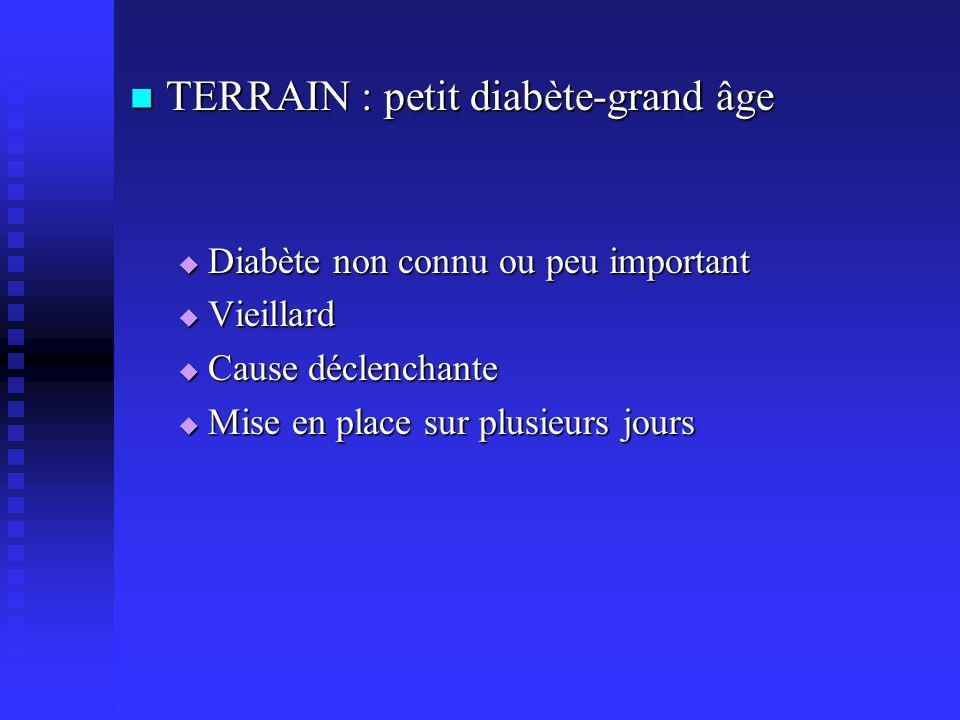 TERRAIN : petit diabète-grand âge