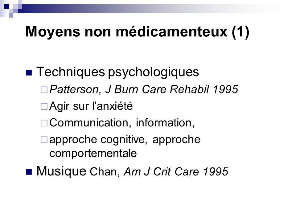 Moyens non médicamenteux (1)