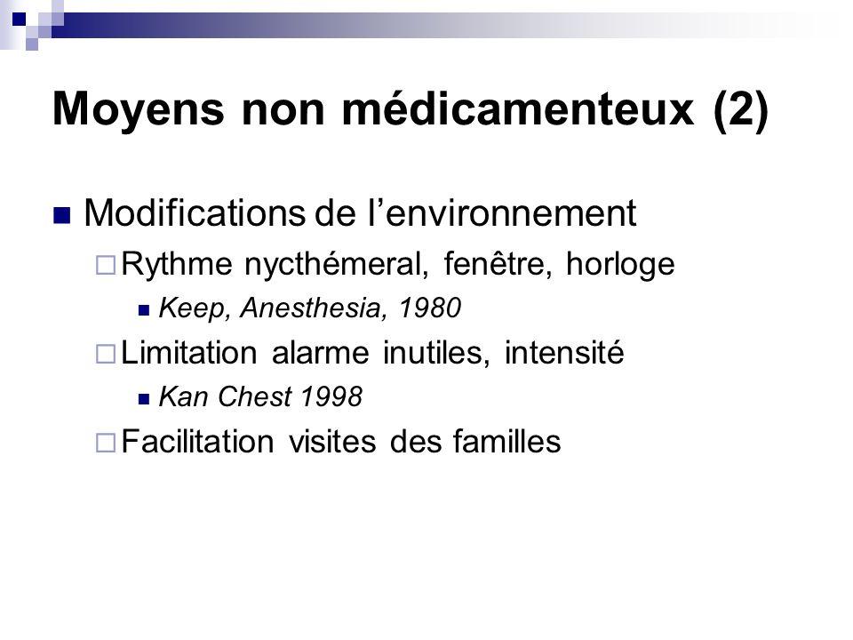 Moyens non médicamenteux (2)
