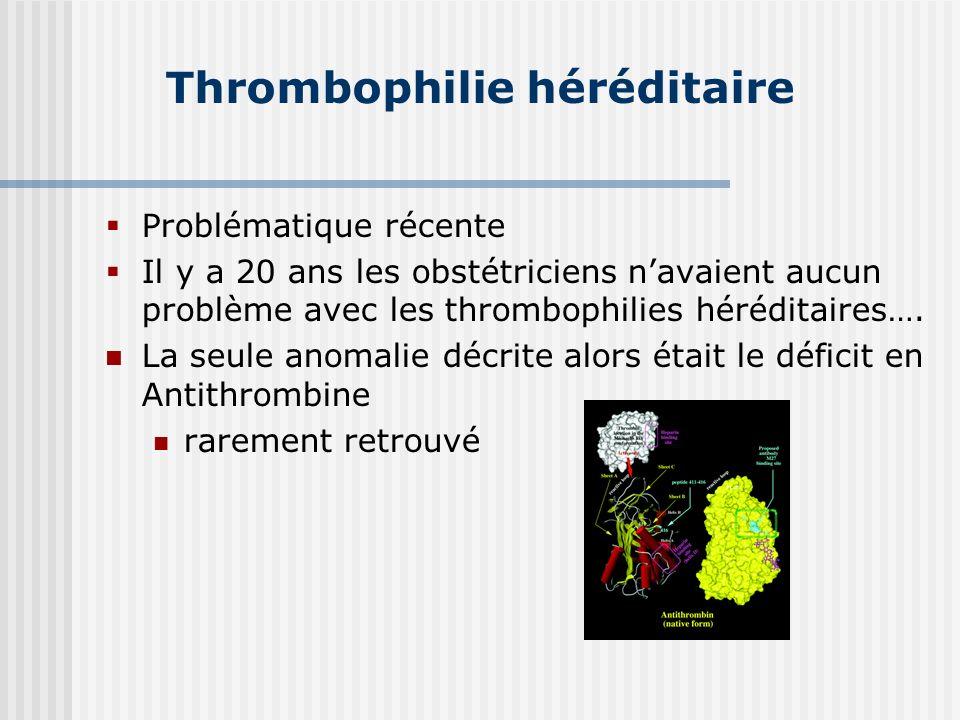 Thrombophilie héréditaire