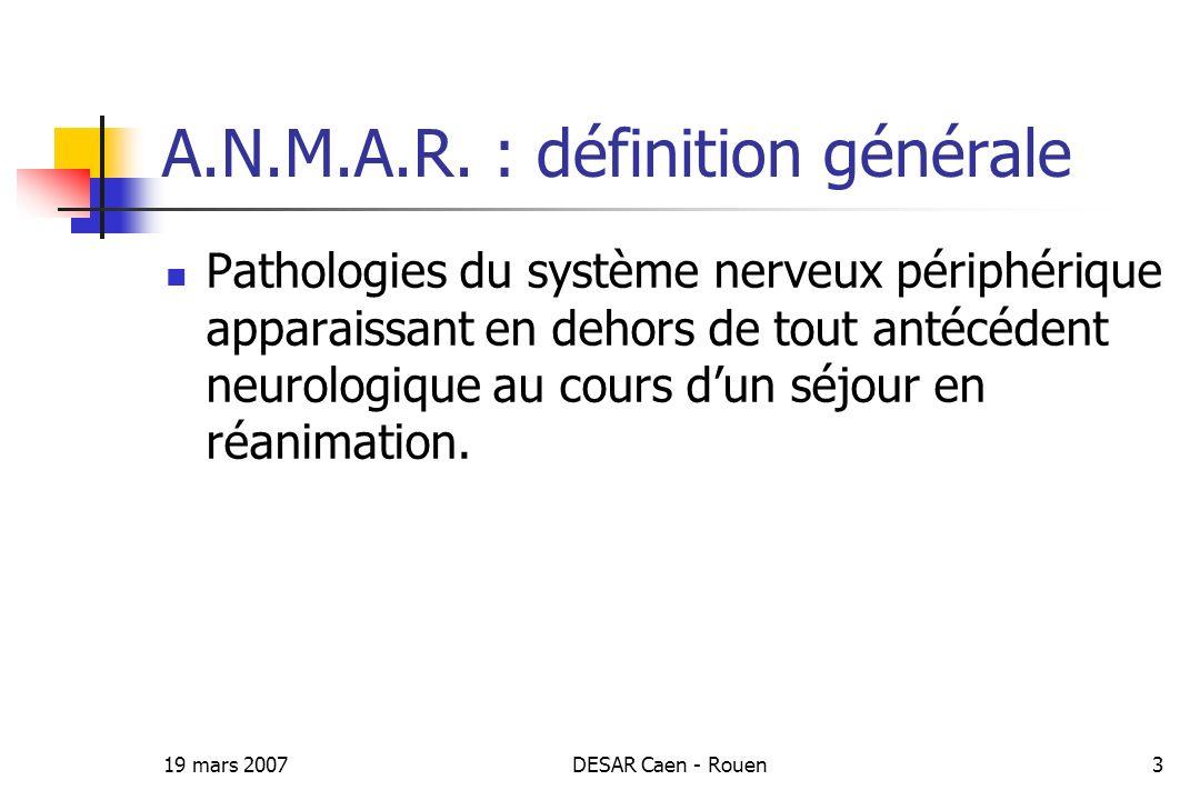 A.N.M.A.R. : définition générale