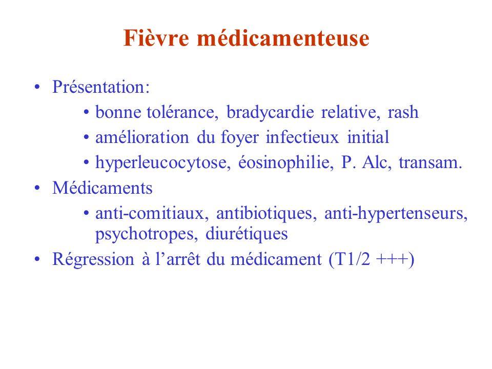 Fièvre médicamenteuse