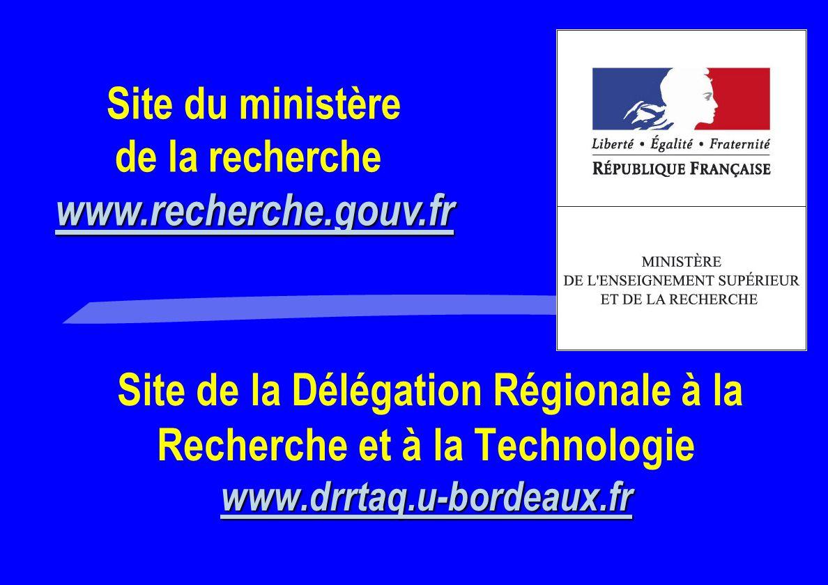 de la recherche www.recherche.gouv.fr