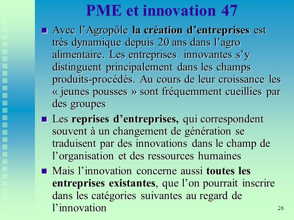 PME et innovation 47