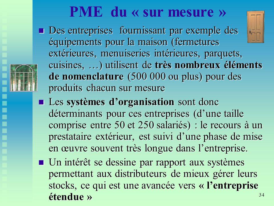 PME du « sur mesure »