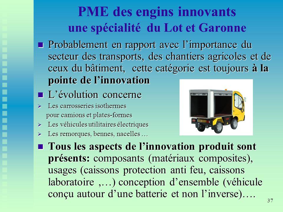 PME des engins innovants une spécialité du Lot et Garonne
