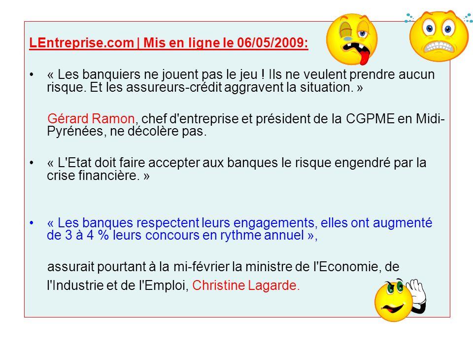 LEntreprise.com | Mis en ligne le 06/05/2009: