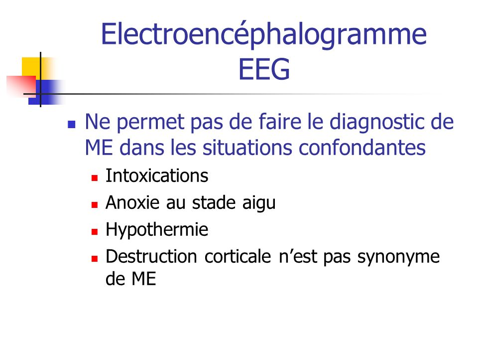 Electroencéphalogramme EEG