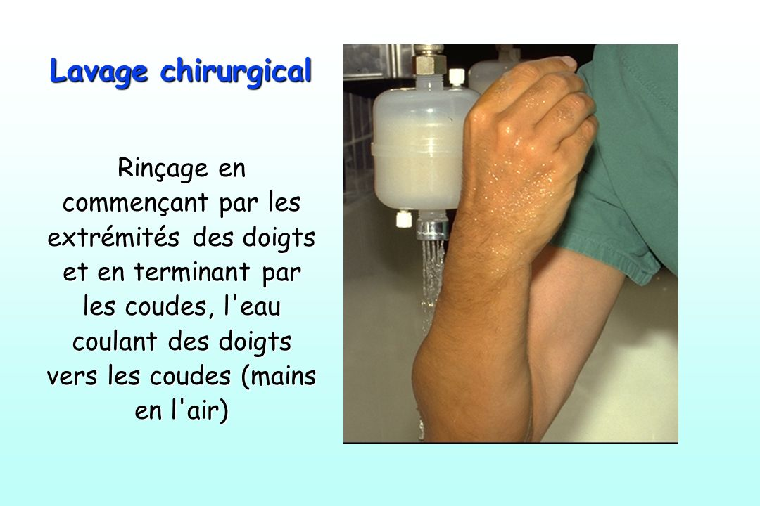 Lavage chirurgical