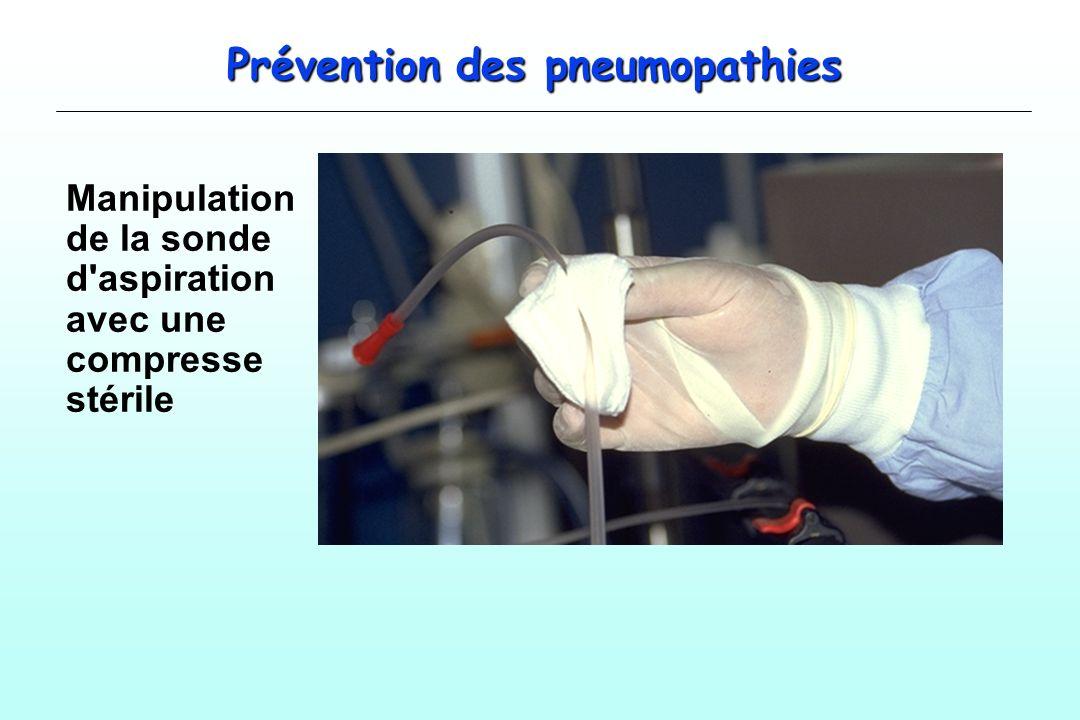 Prévention des pneumopathies
