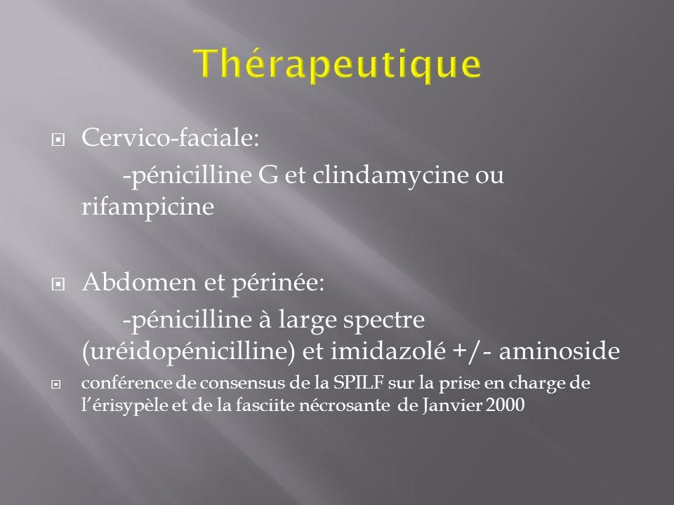 Thérapeutique Cervico-faciale: