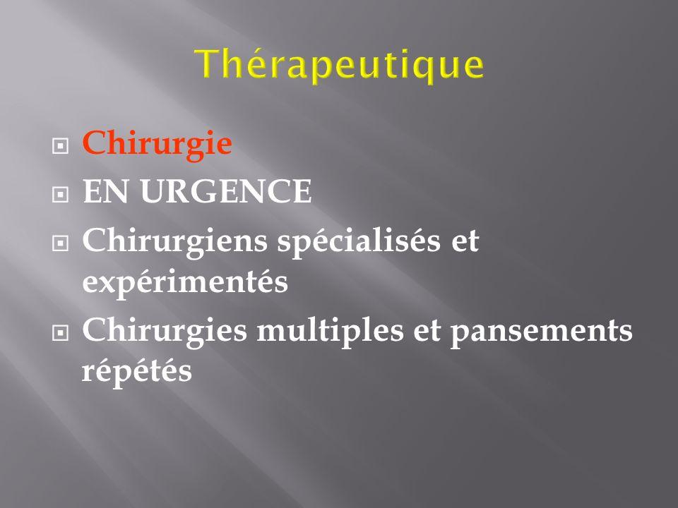 Thérapeutique Chirurgie EN URGENCE