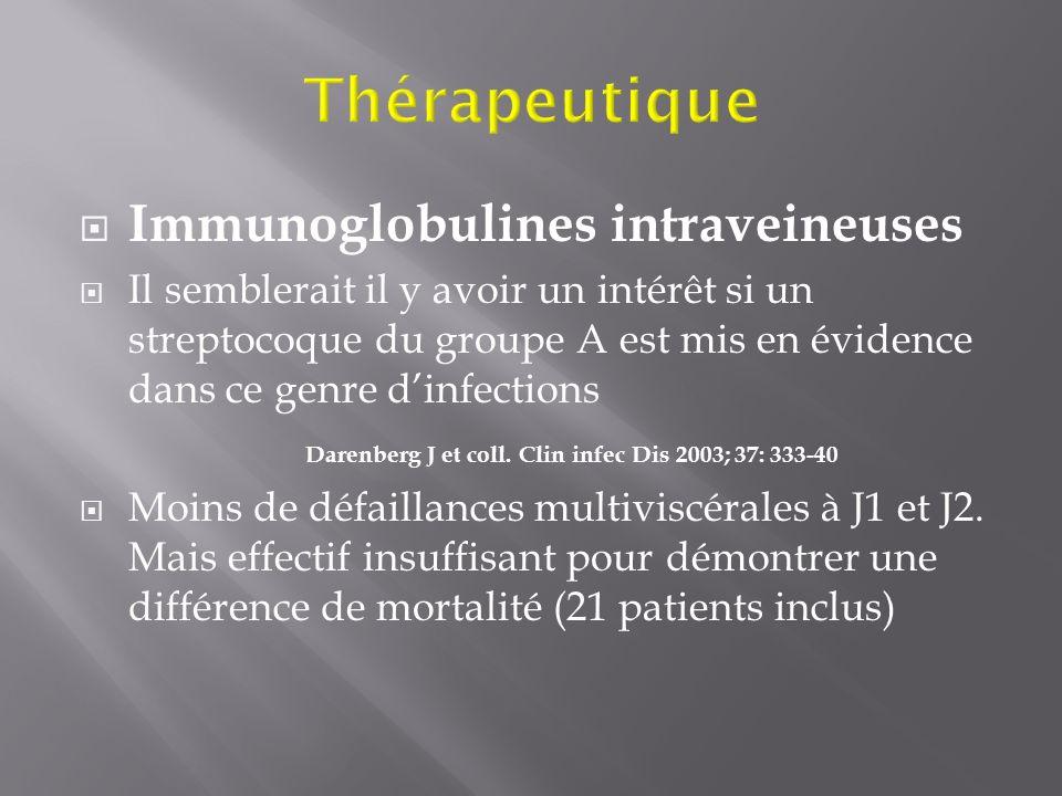 Thérapeutique Immunoglobulines intraveineuses