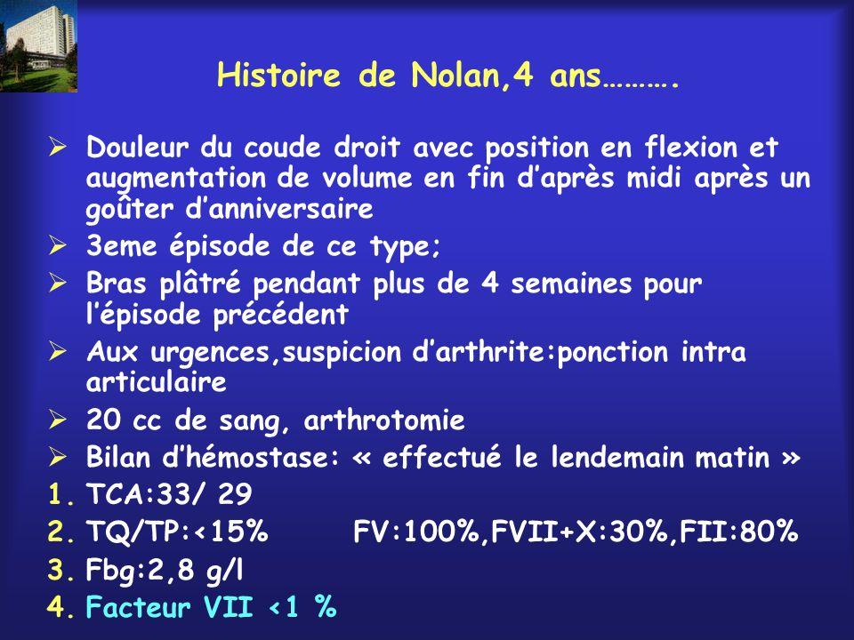 Histoire de Nolan,4 ans……….
