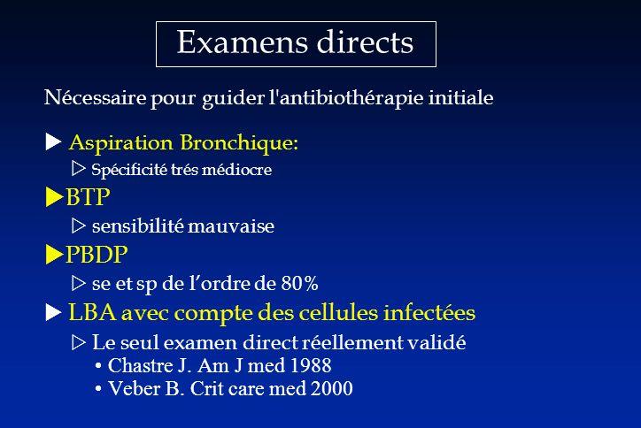 Examens directs BTP PBDP