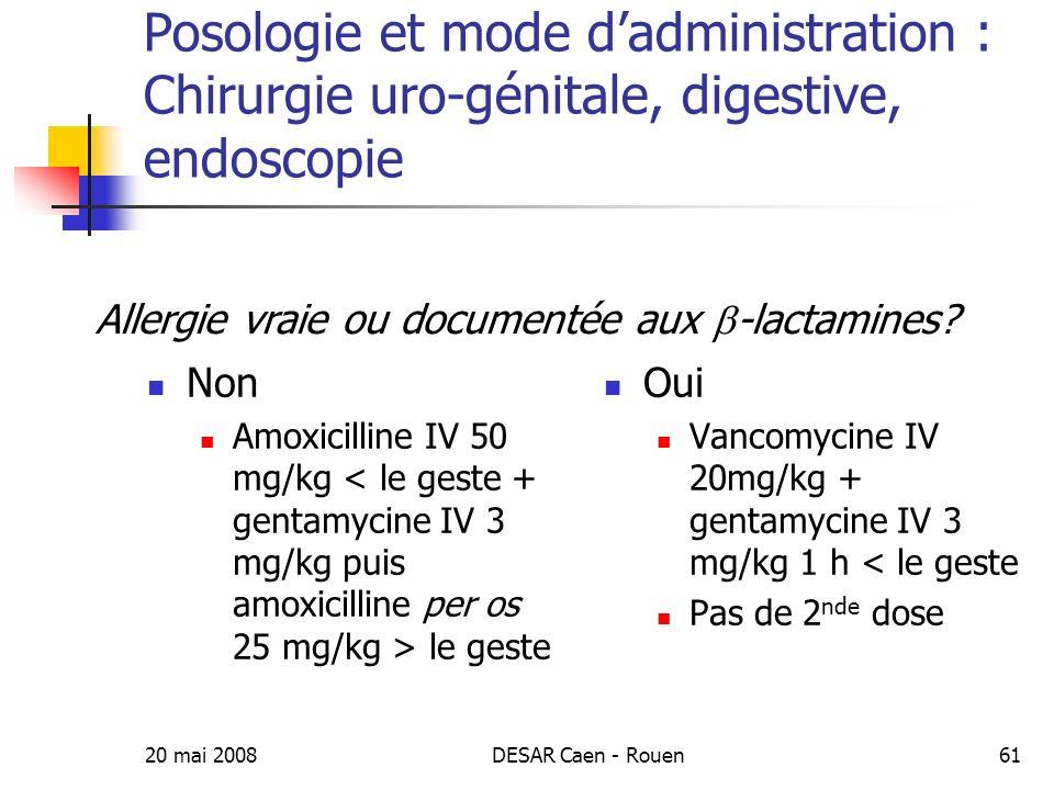Allergie vraie ou documentée aux b-lactamines