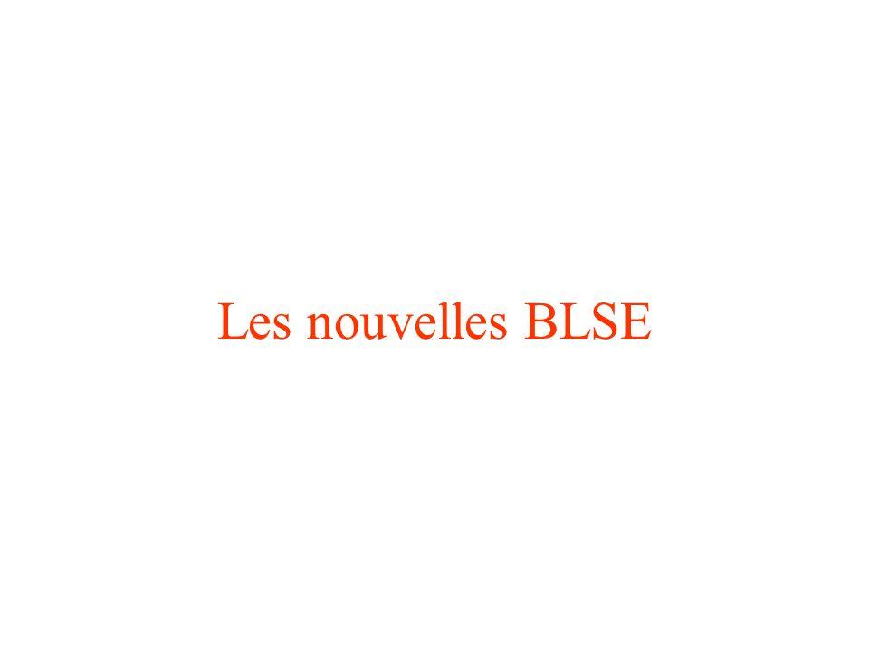 Les nouvelles BLSE