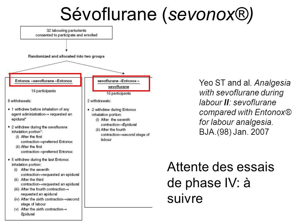 Sévoflurane (sevonox®)