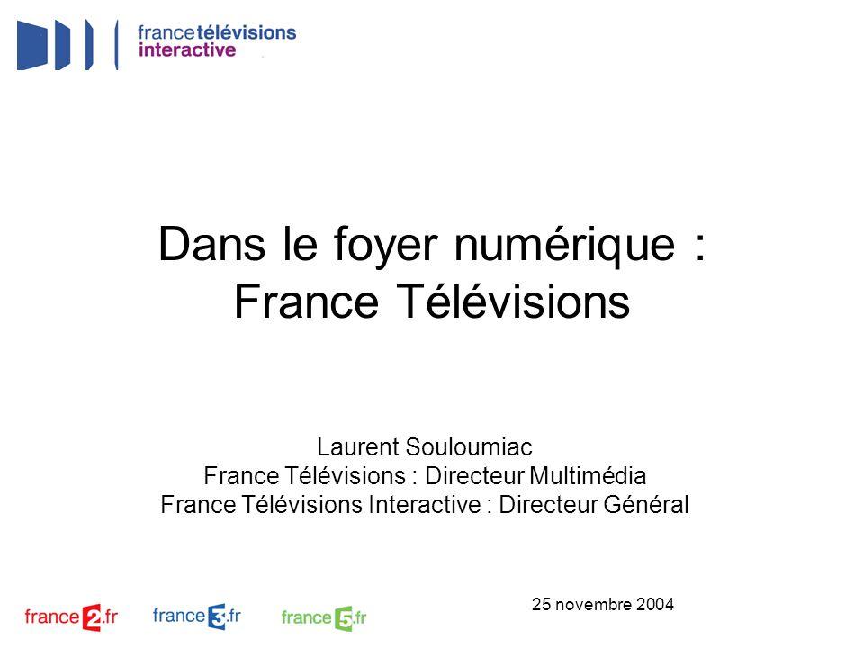 Dans le foyer numérique : France Télévisions