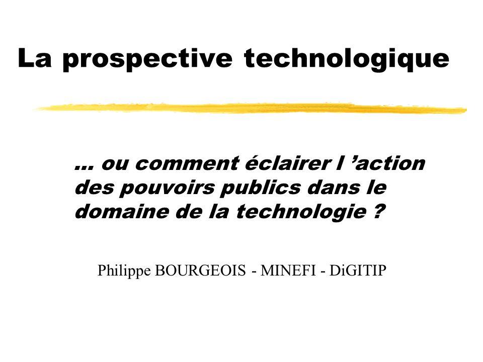 La prospective technologique