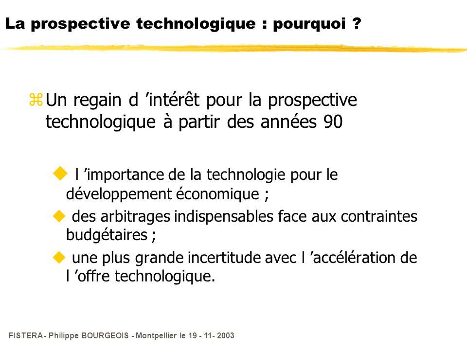 La prospective technologique : pourquoi