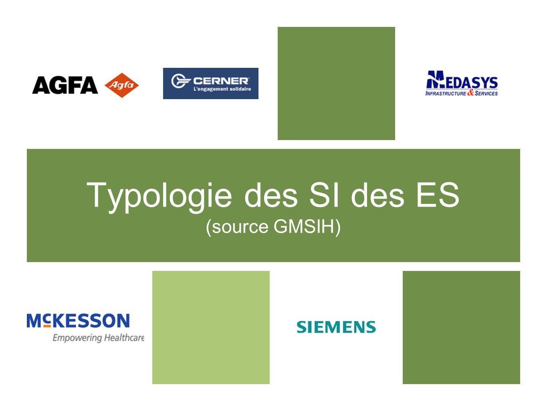 Typologie des SI des ES (source GMSIH)