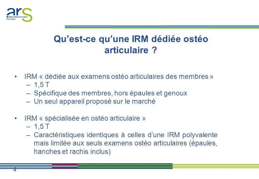 Qu'est-ce qu'une IRM dédiée ostéo articulaire