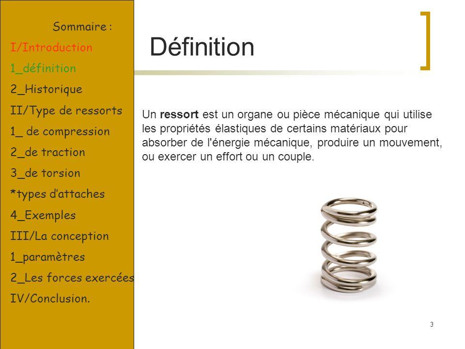 Définition Sommaire : I/Introduction 1_définition 2_Historique