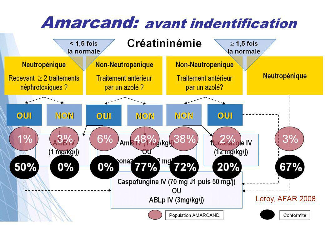 Amarcand: avant indentification