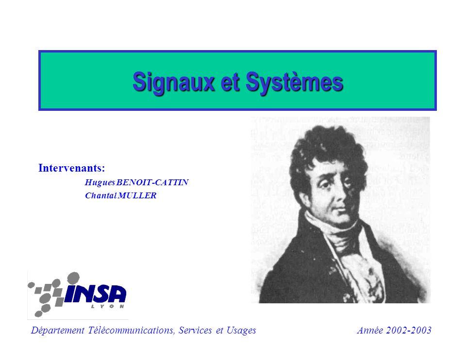 Intervenants: Hugues BENOIT-CATTIN Chantal MULLER