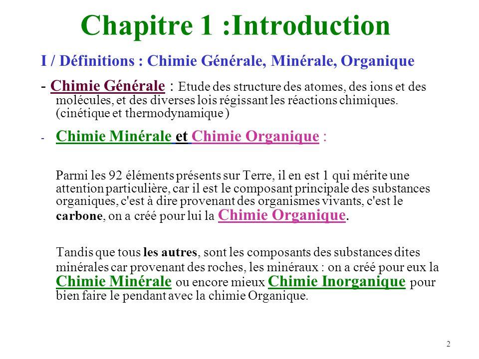 Chapitre 1 :Introduction