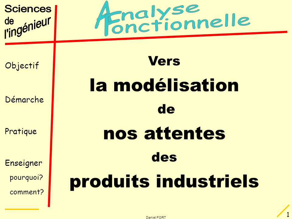 nos attentes produits industriels