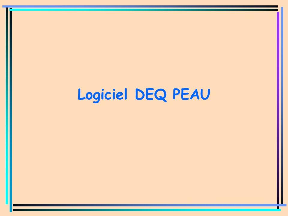 GT DOSE PEAU Logiciel DEQ PEAU Dr GONIN – CRPE du 26 janvier 2005