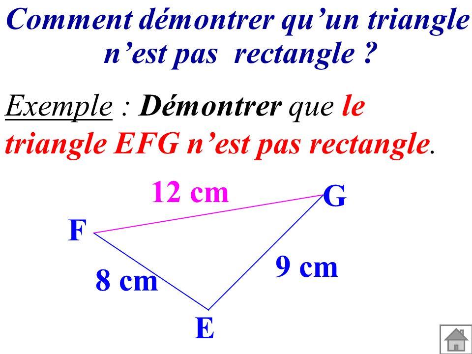 Comment démontrer qu'un triangle