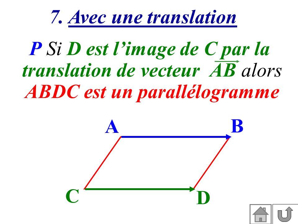 ABDC est un parallélogramme