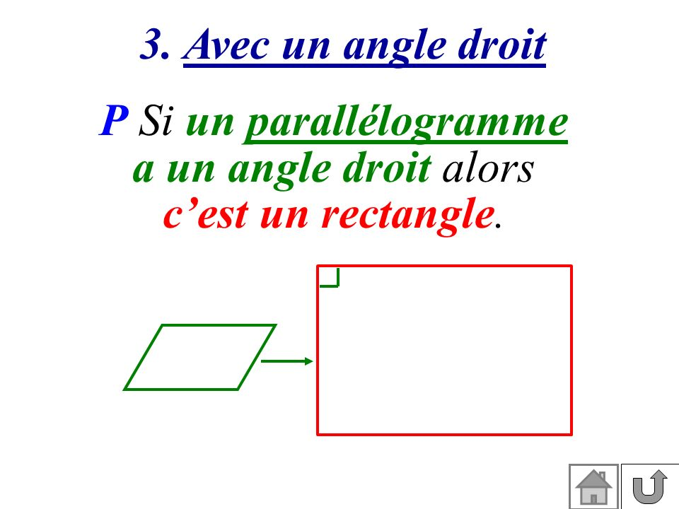 P Si un parallélogramme