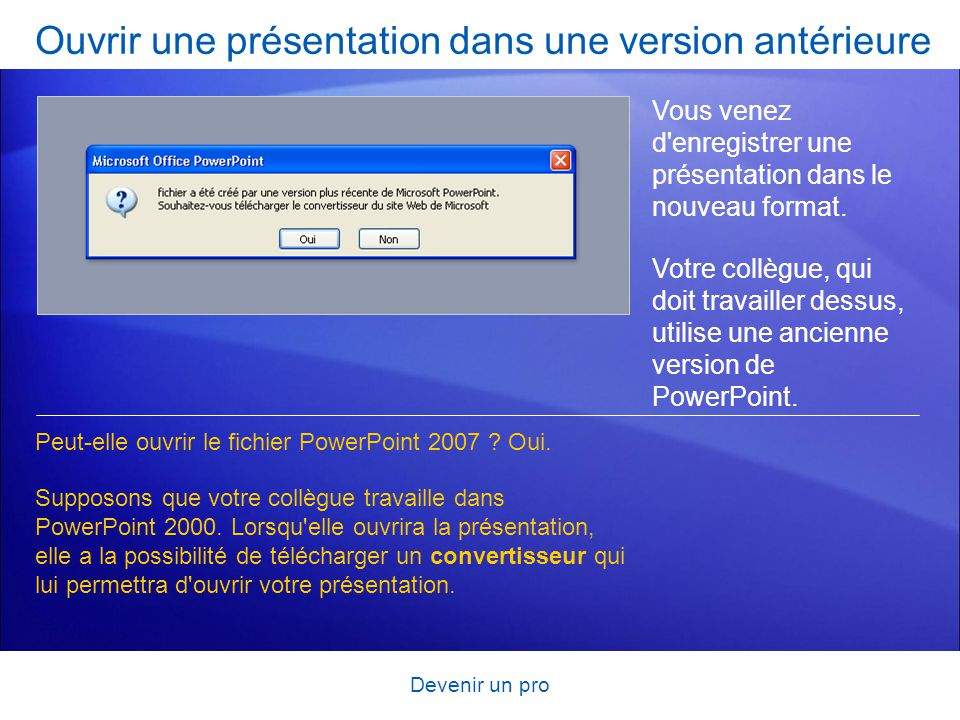 Formation microsoft office powerpoint ppt t l charger - Telecharger open office ancienne version ...