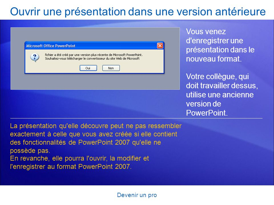 Formation microsoft office powerpoint ppt t l charger - Ouvrir un powerpoint avec open office ...