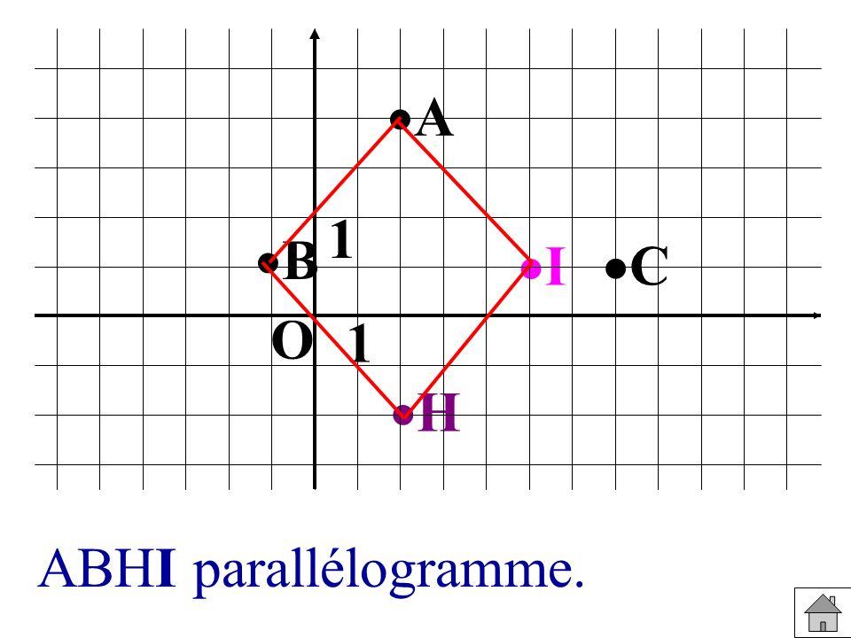 A 1 B I C O 1 H ABHI parallélogramme.