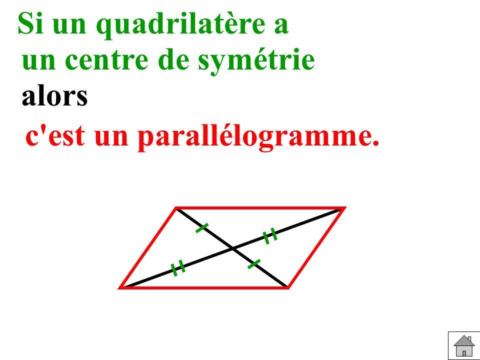 c est un parallélogramme.