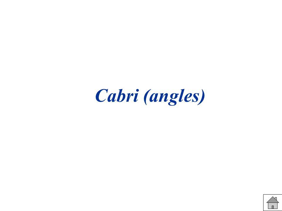 Cabri (angles)