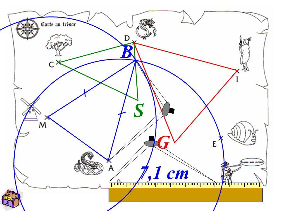 B S G 7,1 cm