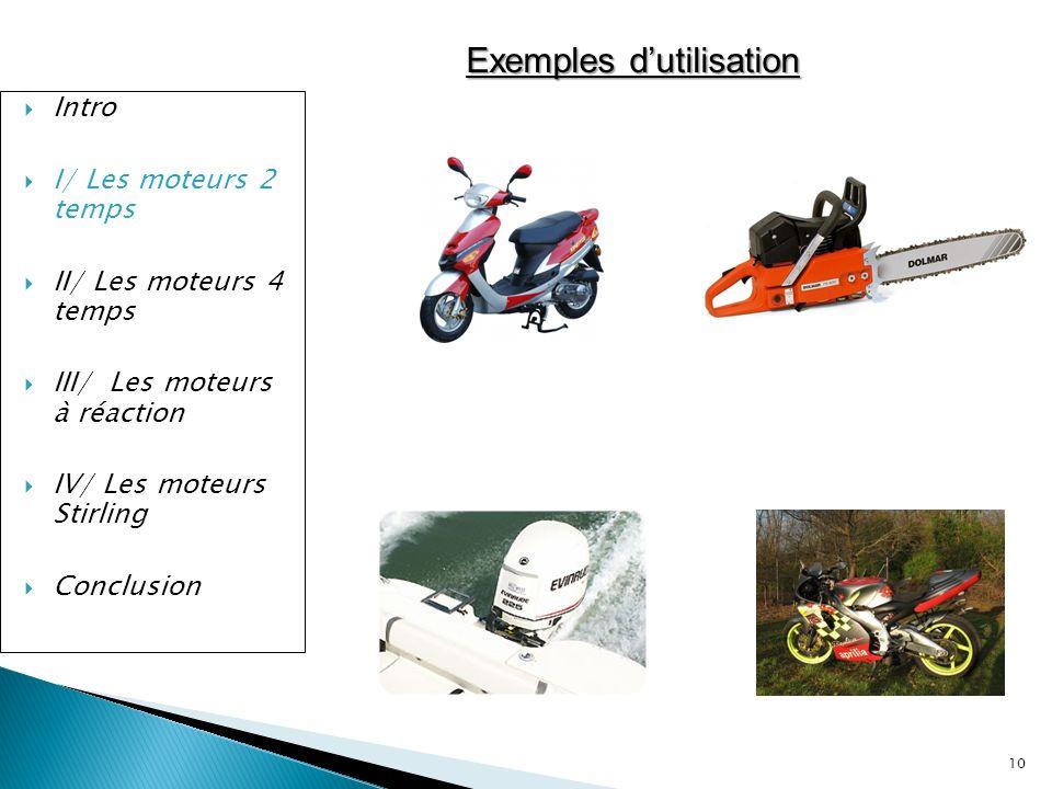 Exemples d'utilisation