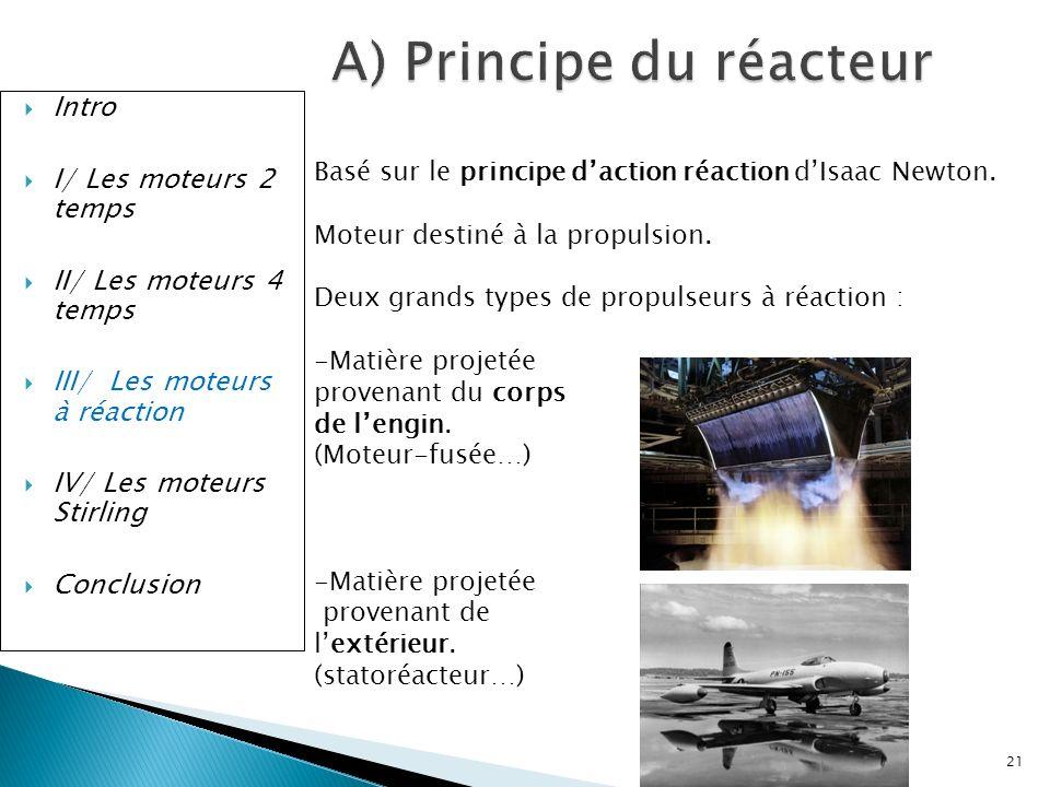 A) Principe du réacteur